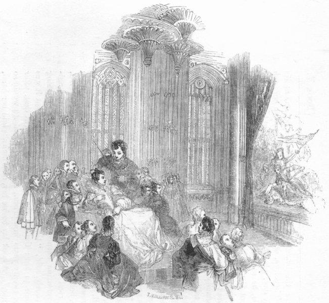 Associate Product PORTRAITS. The Misfortunes of Arthur 1845 old antique vintage print picture
