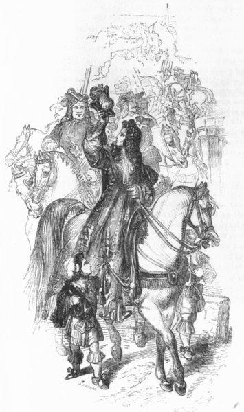 Associate Product PORTRAITS. Roger de Coverley as Sheriff 1845 old antique vintage print picture