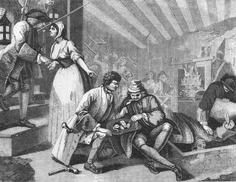 Associate Product PORTRAITS. Idle Apprentice apprehended for murder 1845 old antique print