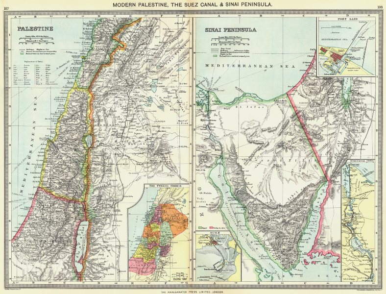 Details about ISRAEL  Palestine