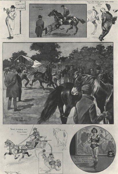 Associate Product The annual fair at Barnet: The business & pleasure of the market. London 1901