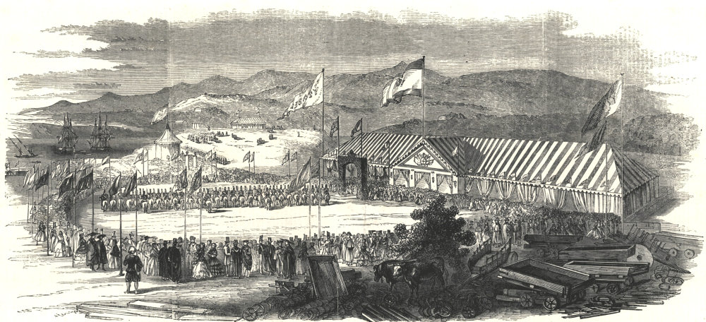 Associate Product Railways in Spain - commencement of the Santander to Alar del Rey line 1852