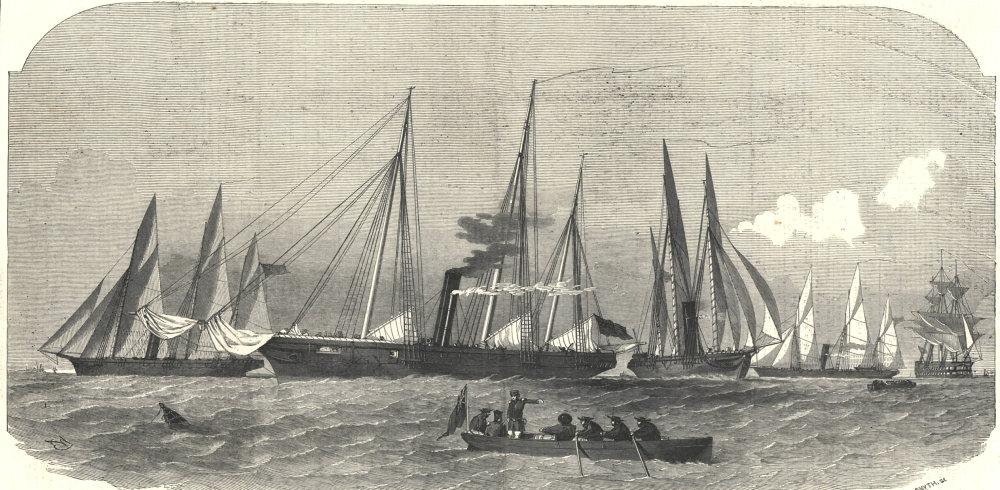 Associate Product Her Majesty's despatch gunboats: Lynx, Beagle, Arrow, Viper. Royal Navy 1854