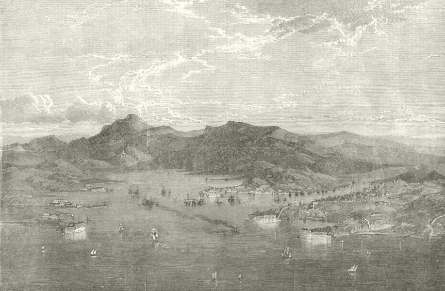 Associate Product Sevastopol. Crimean War 1854 antique ILN full page print