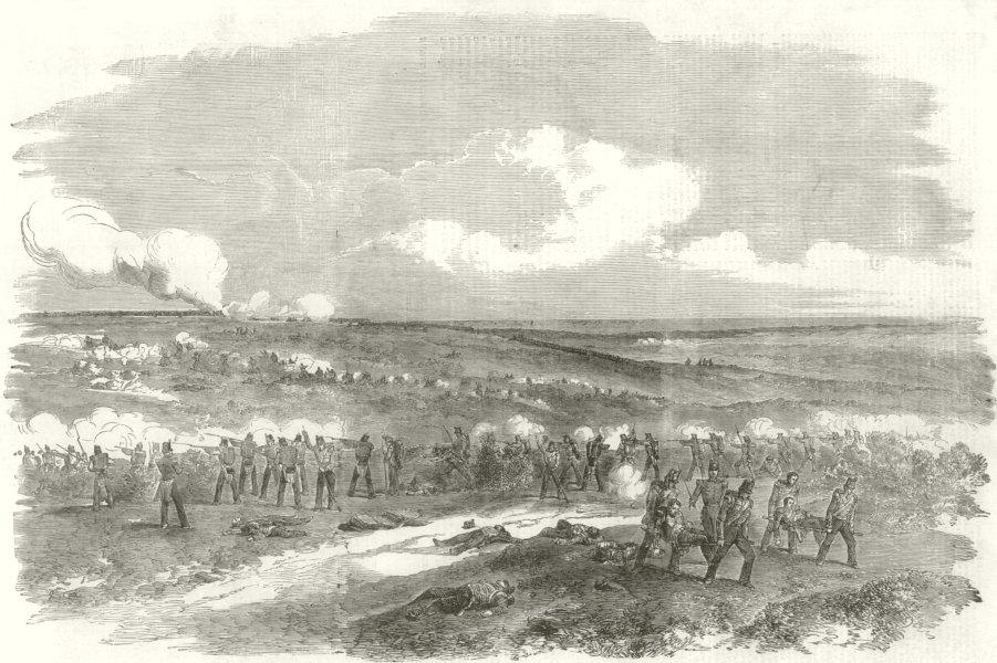 Associate Product Sortie of the Russians from Sevastopol, October 26. Crimean War 1854 ILN print