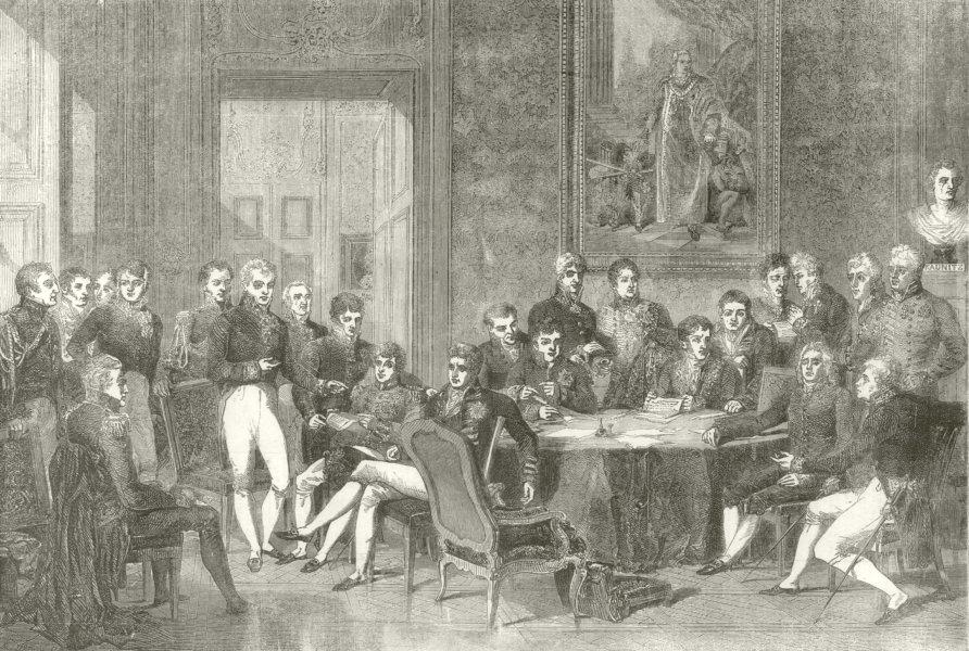 Associate Product Congress of Vienna: Plenipotentiaries 8 powers sitting Treaty of Paris 1815 1856
