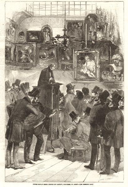 Associate Product Picture auction at Christie & Manton's, King Street, St. James's. London 1856