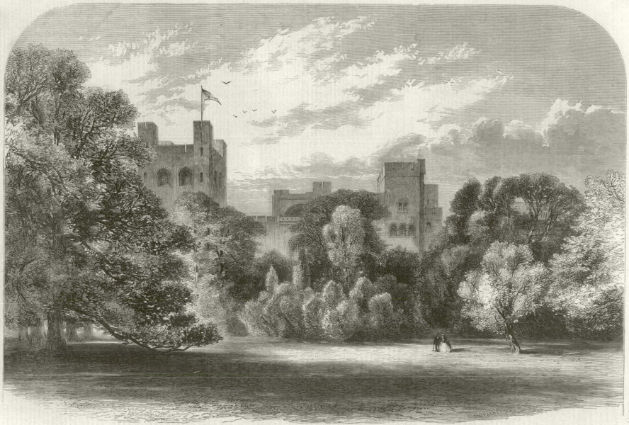 Associate Product Queen Victoria in North Wales: Penrhyn Castle, Col Hon Douglas-Pennant 1859