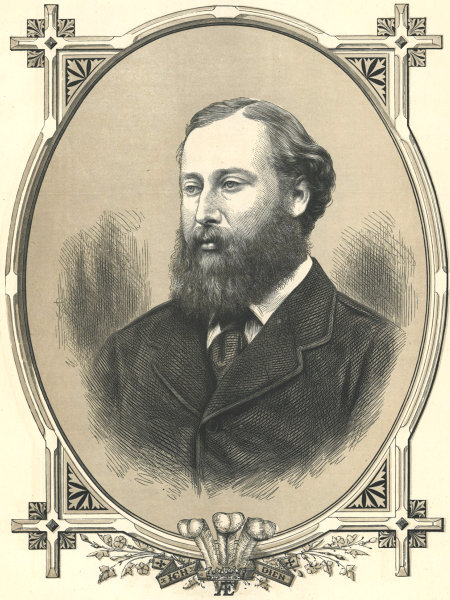 Associate Product His Royal Highness The Prince of Wales, Albert Edward, later Edward VII 1872