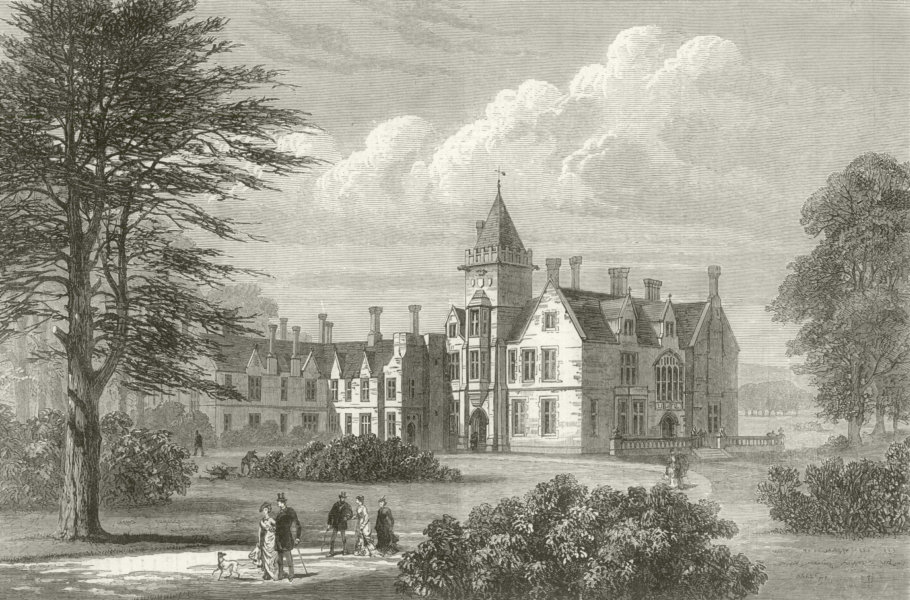 Associate Product Bagshot Park, Surrey: The Residence of H. R. H. The Duke of Connaught 1879