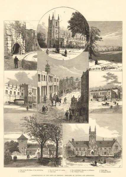 Associate Product Incorporation of the town of Croydon: sketches of Croydon & Addington 1883