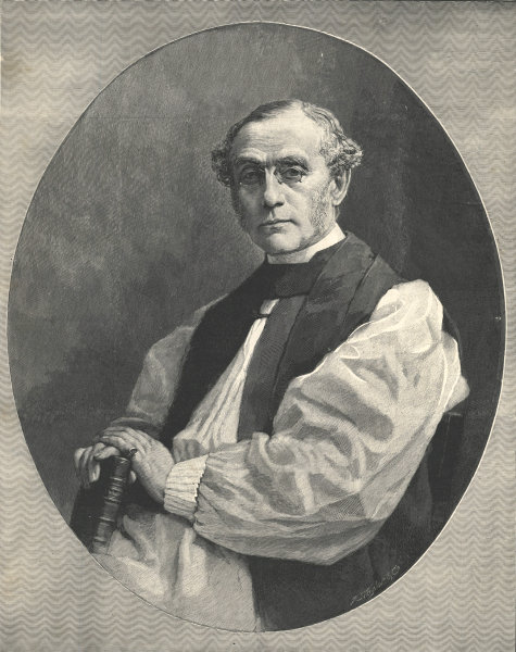 Associate Product The Right Rev. Dr. W. D. Maclagan, the new Archbishop of York. Clergy 1891