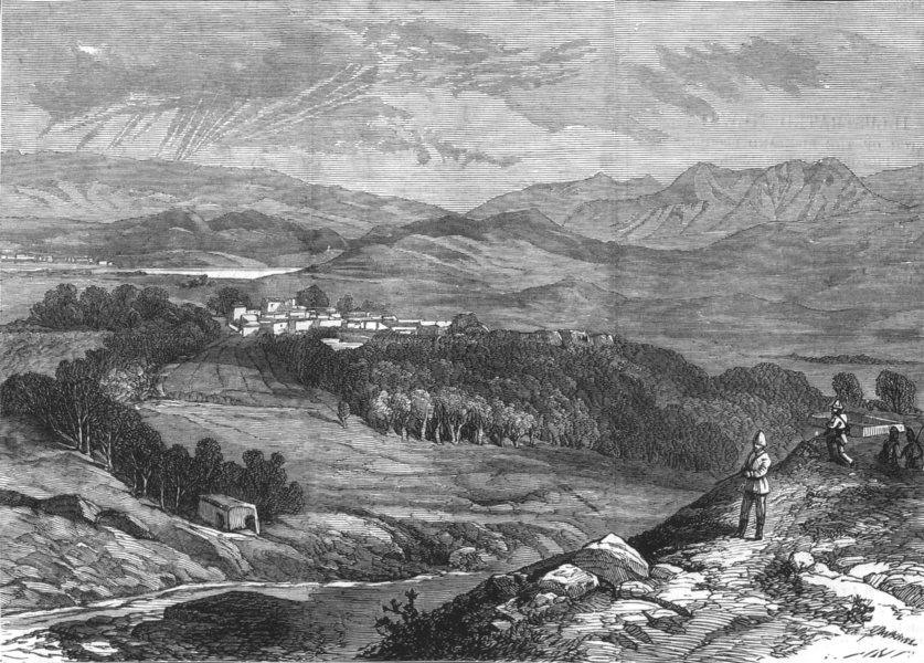 Associate Product AFGHANISTAN. Gundamuk, yakoob khan met British negotiators for peace, 1879
