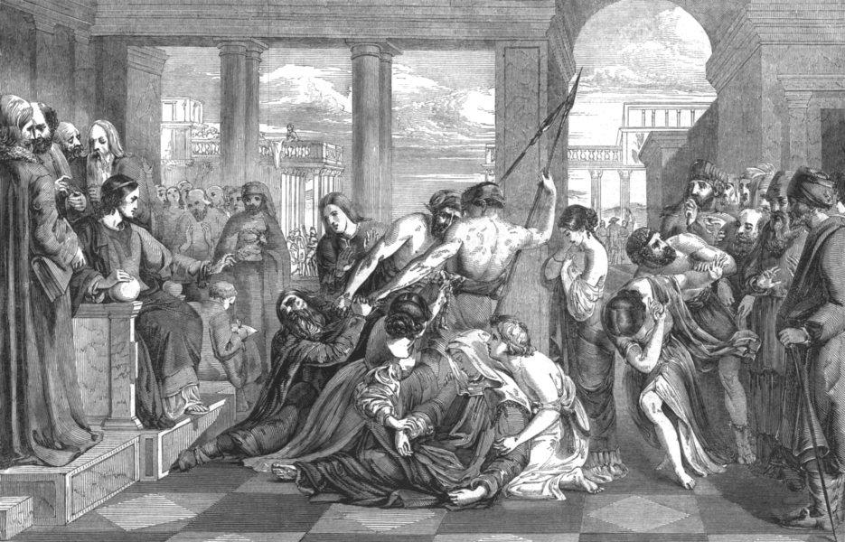 Associate Product RELIGIOUS. The Parable of Forgiveness- (Premium £200) , antique print, 1847