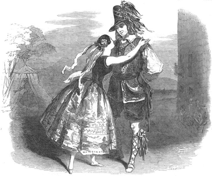 Associate Product LONDON.Arline;fortunes & vicissitudes of a bohemian girl Haymarket Theatre, 1851