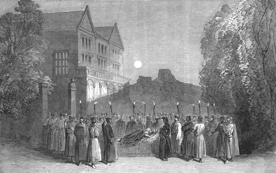 Associate Product THEATRE. Last from Shakspeare's play of King John Sadler's Wells theatre, 1849
