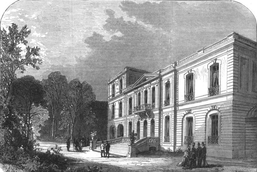 Associate Product PARIS. Thiers, place St Georges, Rue Notre Dame de Lorette, antique print, 1877