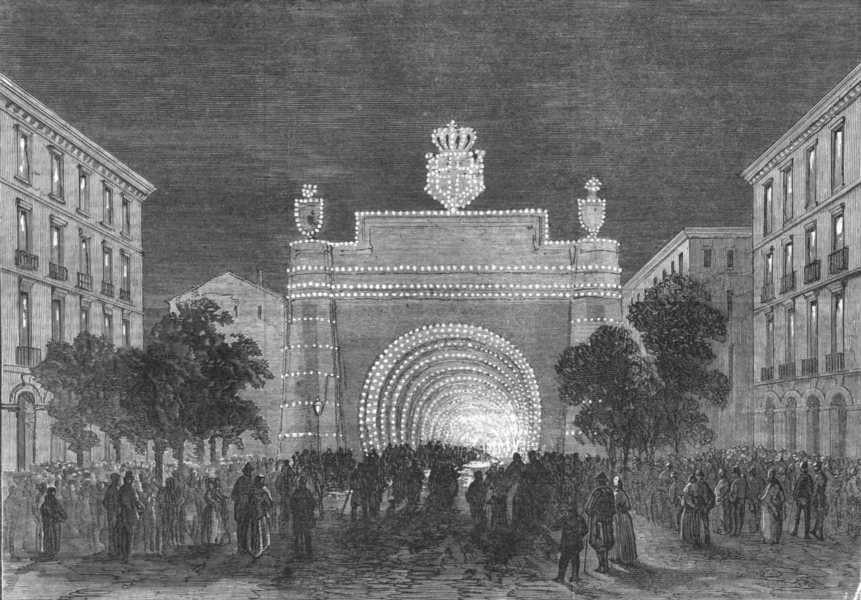 Associate Product FRANCE. Opening of the Mont Cenis Tunnel, antique print, 1871