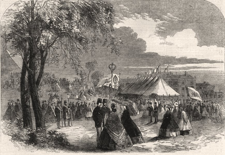 Associate Product Floral jubilee at Dumfries. Dumfries & Galloway Horticultural Society, 1862