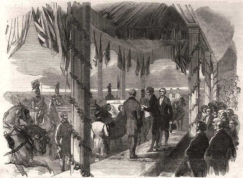Associate Product Presentation of the address to Queen Victoria by the Mayor of Salford, 1851
