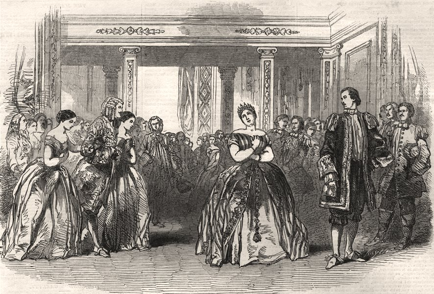 Associate Product Mlle Alboni as Cenerentola in Rossini's opera at Her Majesty's Theatre, 1849
