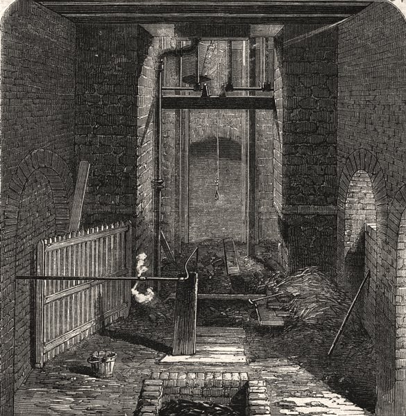 Associate Product The Lundhill Colliery explosion: mouth of the downcast shaft. Yorkshire, 1857