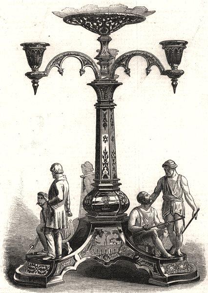 Associate Product Gift Sir Rowland MacDonald Stephenson East Indian Railway Calcutta Kolkata, 1857