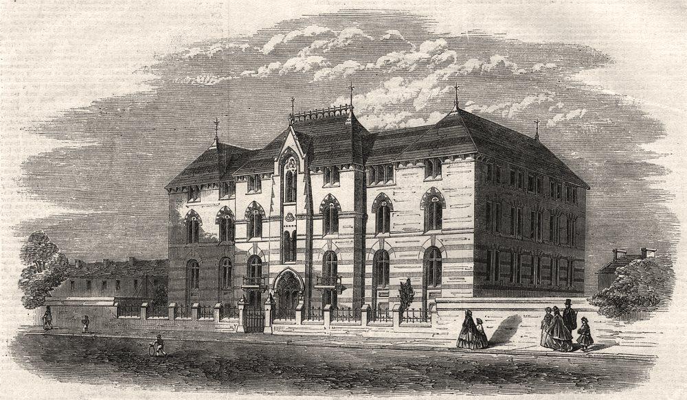 Associate Product Albert Memorial industrial schools Birkenhead built W Jackson MP Liverpool, 1865