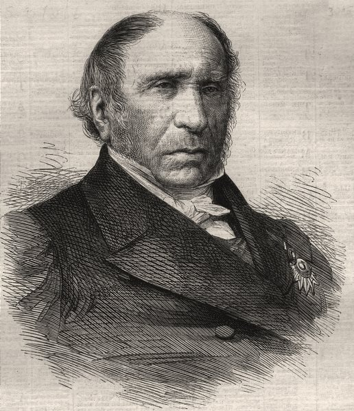 Associate Product M. Dupin, Senator & Procureur-General of the Court of Cassation. France, 1865