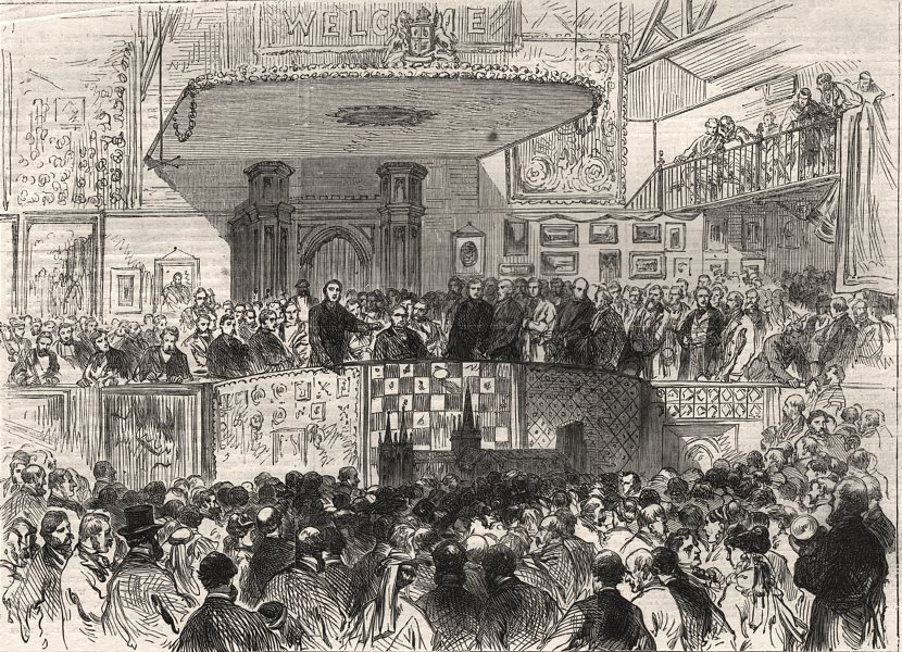 Associate Product The South London Working Classes' Industrial Exhibition, Lambeth Baths, 1869