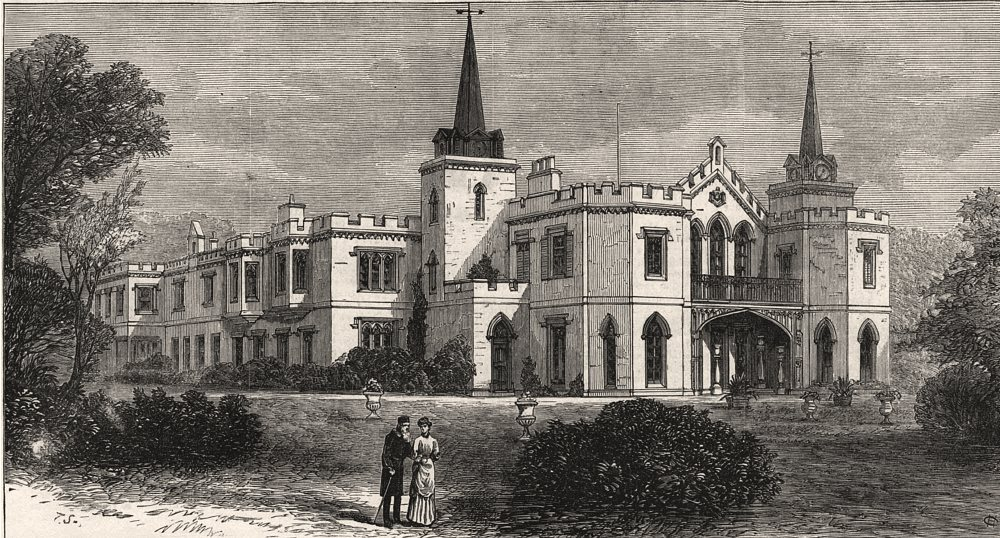 Associate Product East Cliff Villa, Ramsgate, the residence of Sir Moses Montefiore. Kent, 1883