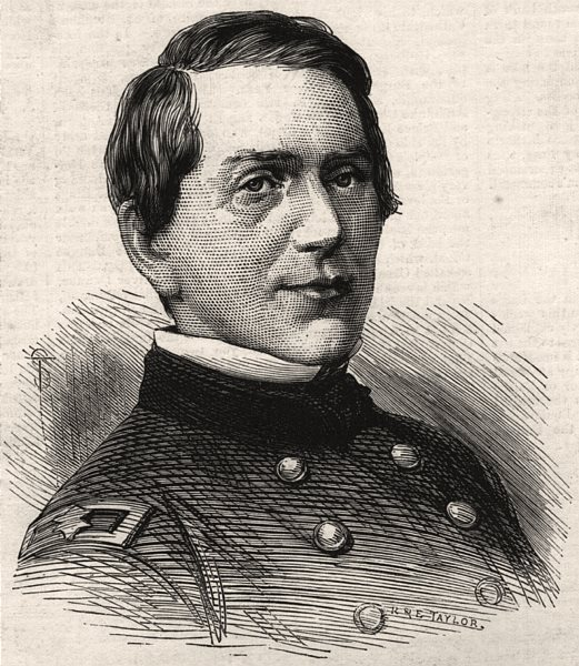 Associate Product Brigadier-General E. R. S. Canby, murdered by the Modoc indians. USA, 1873