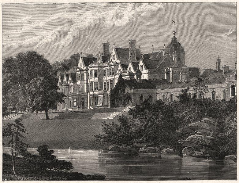 Associate Product Prince & Princess Of Wales's silver wedding. Sandringham Hall, Norfolk, 1888