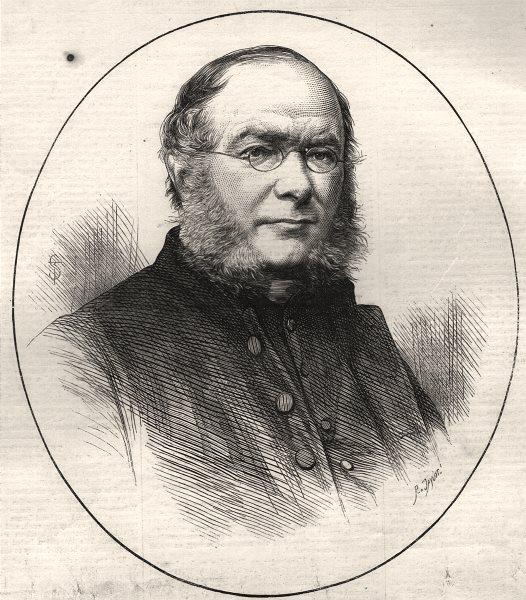Associate Product The late very Rev. H. L. Mansel, D. D. Dean of St. Paul's. London, print, 1871