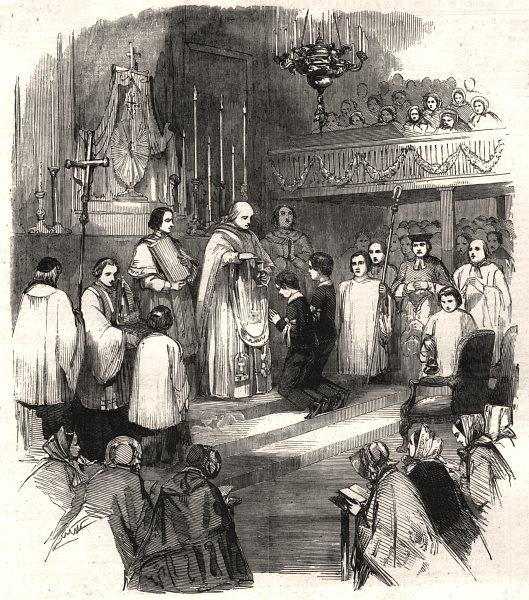 Associate Product Count de Paris Duke Chartres confirmation French chapel King St Portman Sq, 1853