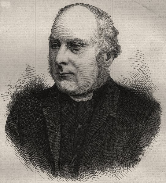 Associate Product The Right Rev. J. R. Woodford, D. D. the new Bishop of Ely. Cambridgeshire, 1873