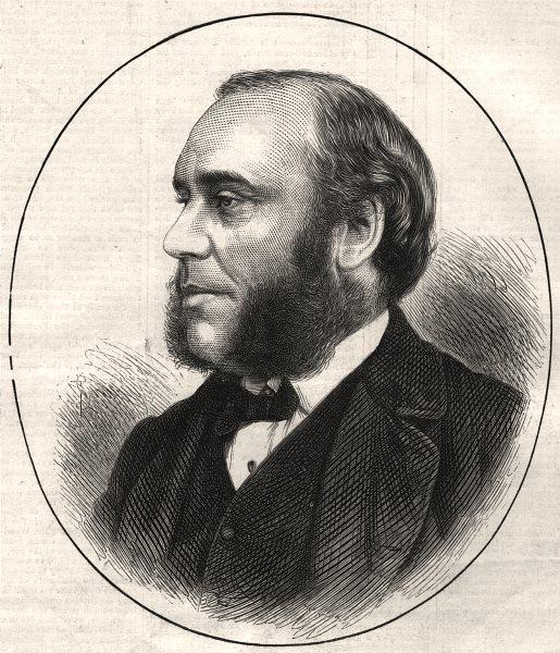 Associate Product Mr. W. H. Smith, M. P. Financial Secretary to the Treasury. Portraits, 1874