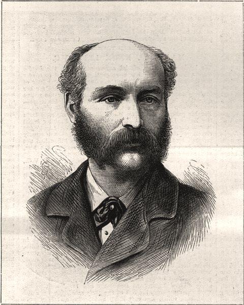 Associate Product Major W. Knox Leet, V. C. 13th Light Infantry. Portraits, antique print, 1879