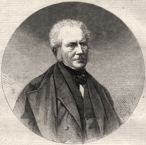 Associate Product The late Sir Hugh Lyon Playfair, K. C. B. provost of St. Andrews. Scotland, 1861
