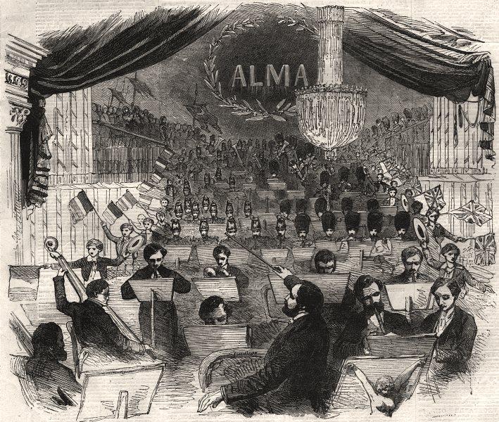 Associate Product M. Jullien's concert, at the Royal Italian Opera House, Covent Garden, 1855