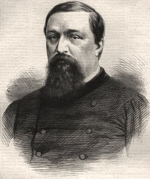 Associate Product Prince Pierre Bonaparte. Royalty, antique print, 1870