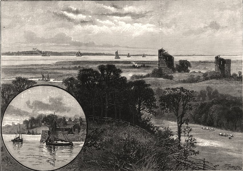 """Associate Product Site of """"General"""" Booth's projected home colony, Hadleigh, Southend, Essex, 1891"""