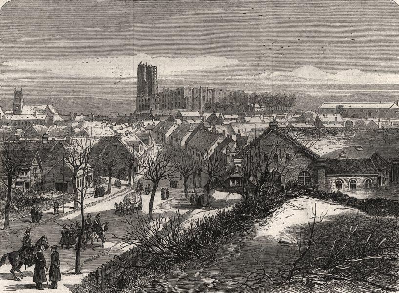 Associate Product The war in Denmark. Kolding, Jutland, allied armies headquarters. Denmark, 1864
