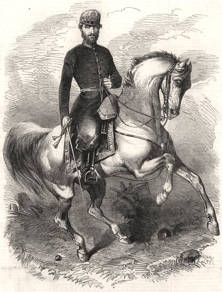 Associate Product General Prim, Commanding the Second corps of the Spanish Army In Morocco, 1860