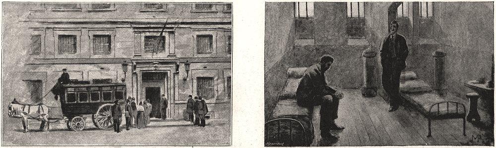 Associate Product Fresh arrivals. A double cell. Paris, antique print, 1894