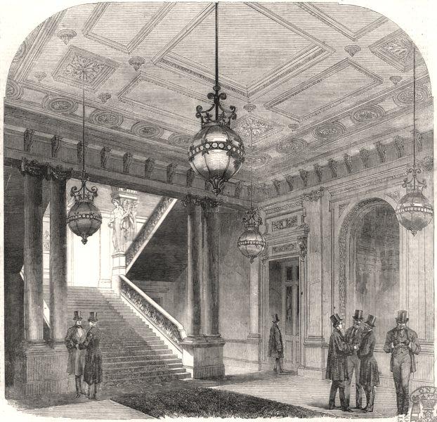 Associate Product Junior United Service Club-House, Charles Street, St. James's. London, 1857