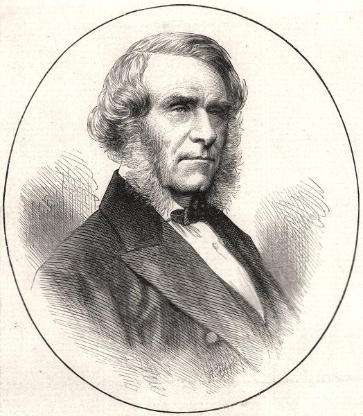 Associate Product Sir Robert Christison, Bart. M. D. Edinburgh. Scotland, antique print, 1871