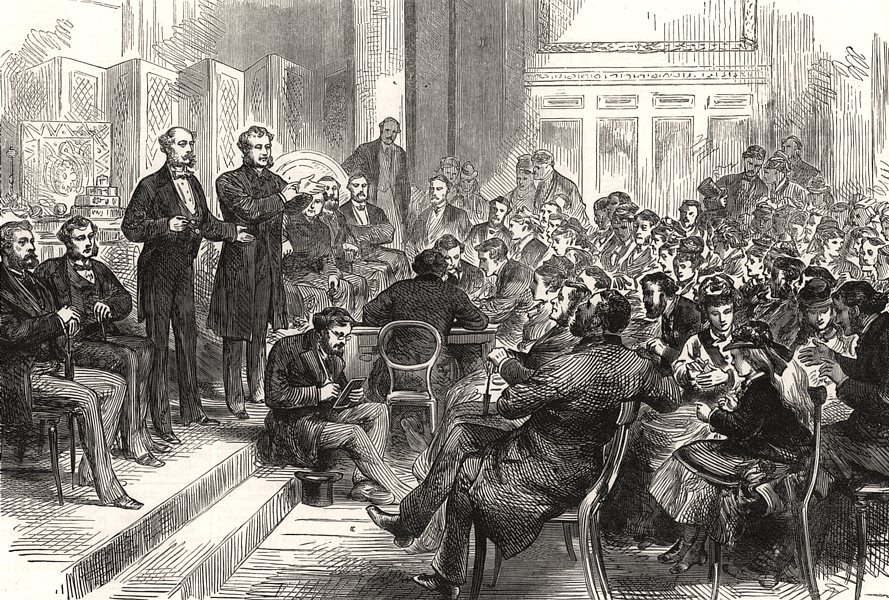 Associate Product Entertainment to the deaf and dumb at the Freemasons' Tavern. London, 1875