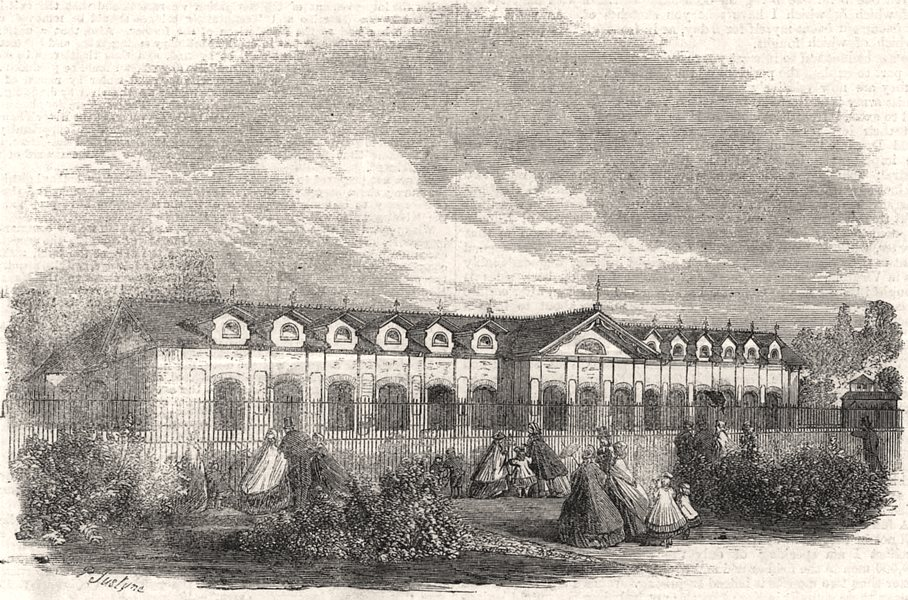 Associate Product Antelope House in the Zoological Society's Gardens, Regent's Park. London, 1861