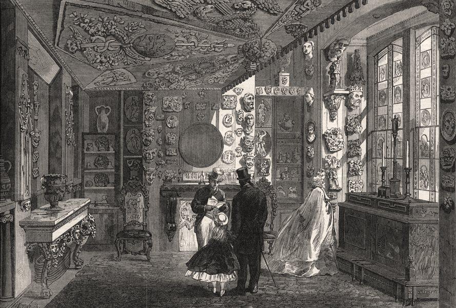 Associate Product Sir John Soane's Museum: The Monks' Parlour. Lincoln's Inn Fields, London, 1864